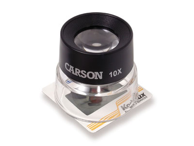 Carson LL-10 LumiLoupe™ 10X Stand Magnifier